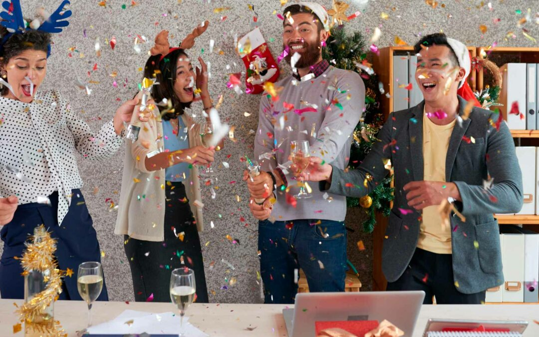 Hosting an employee holiday party that is festive, frugal and free of stress